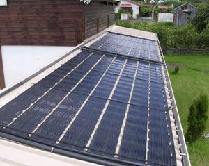 Essedue piscine sistemi di riscaldamento acqua per - Pannello solare per piscina ...